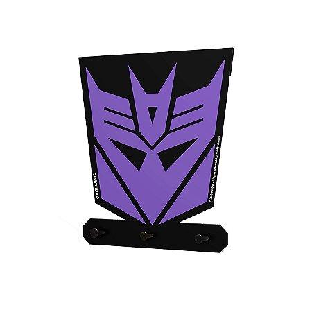 Porta Chaves Transformers Decepticons
