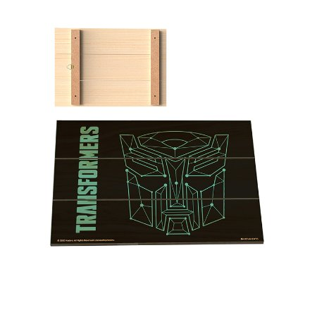 Placa Decorativa  Transformers - Pontos