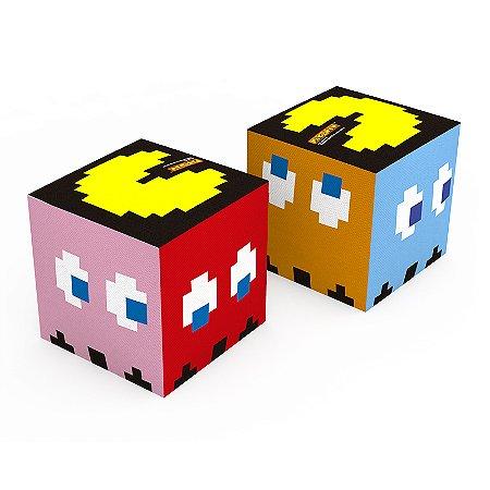 Puff Quadrado Pac Man - Mod. 2