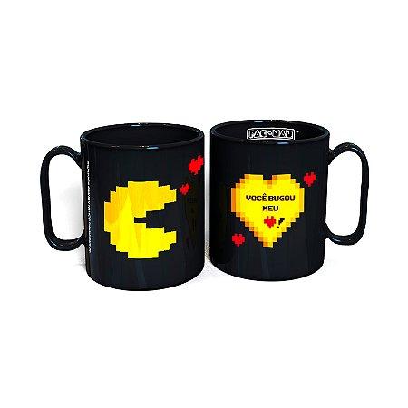 Kit De Canecas Namorados Pac Man