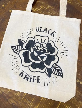 Ecobag Rose Black
