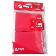 Central Shield Matte Vermelho