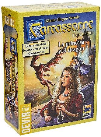 Carcassonne: A Princesa E O Dragão