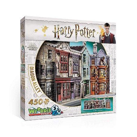 Harry Potter Beco Diagonal Quebra Cabeça 3D