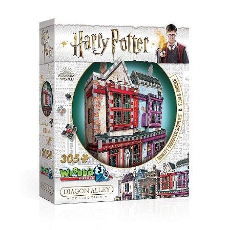 Harry Potter: Artigos De Qualidade Para Quadribol E Apotecário Quebra Cabeça 3D