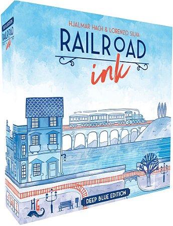 Railroad Ink: Edição Azul Profundo
