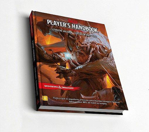 Dungeons & Dragons - Livro do Jogador Quinta Edição