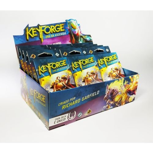Keyforge: Era da Ascensão  Display (12 decks)