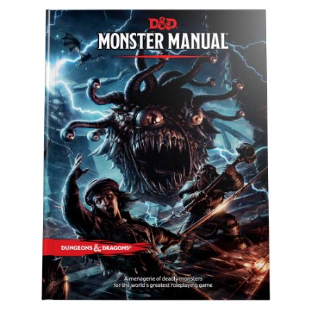Dungeons & Dragons Monster Manual Quinta Edição