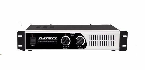 Amplificador Potencia Profissional 600 Watts PA5000 - Datrel