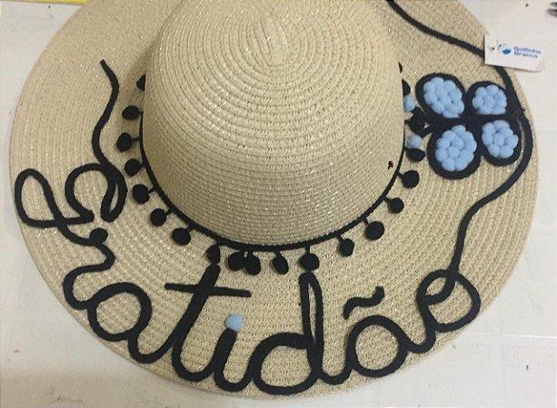 Chapéu Personalizado Gratidão + Borboleta