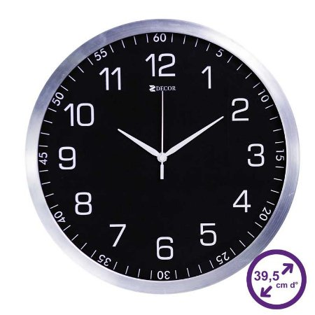 Relógio de parede Grande para Cozinha - 39,5 cm