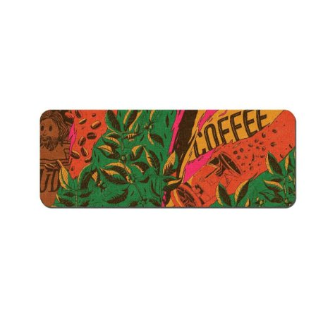 Bar Mat Dude Coffee Roasters - Tapete para balcão  58X22cm