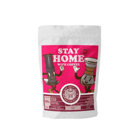 Stay Home with Coffee (Bourbon Amarelo)