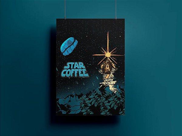 Poster/Quadro Star Coffee
