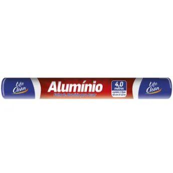 Papel Alumínio 45 cm x 4 mts - Life Clean