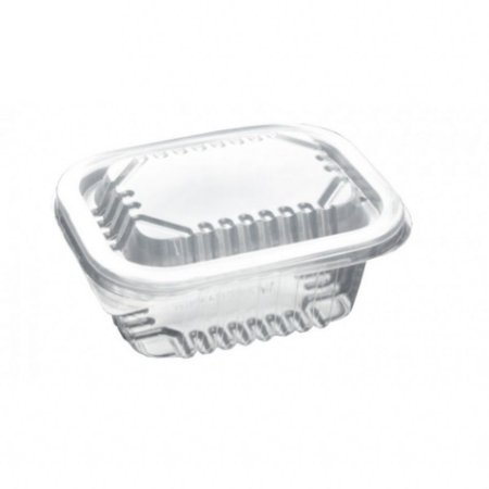 Pote Retangular para Marmita Fitness Freezer e Micro-ondas 350 ml PP2 - Starpack