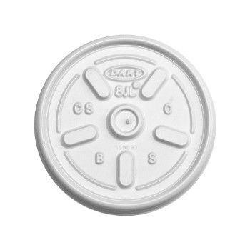 Tampa para Copo de Isopor Dart 200/240 ml - 8JL