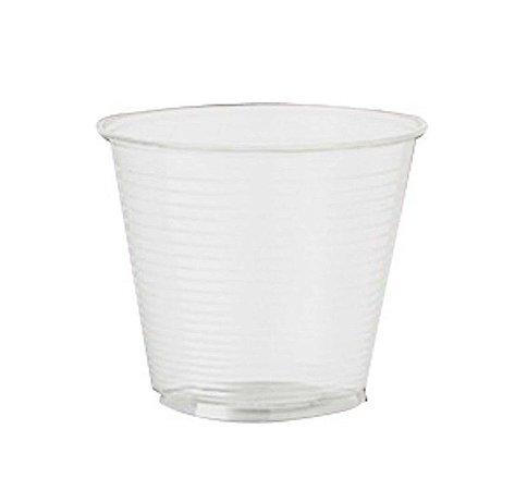 Copo Plástico Descartável Translúcido 80 ml - Cristalcopo