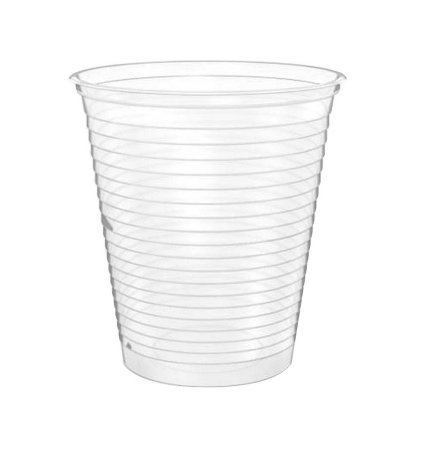 Copo Plástico Descartável Translúcido 180 ml - Cristalcopo