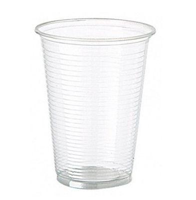 Copo Plástico Descartável Translúcido 250 ml - Cristalcopo