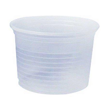Pote Plástico Descartável Translúcido 250 ml - Cristalcopo