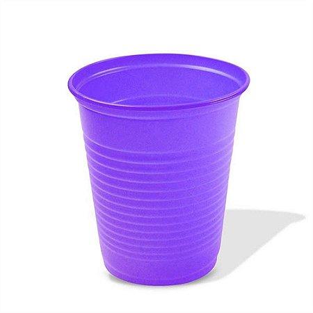Copo Plástico Descartável Roxo 200 ml - Bello Copo