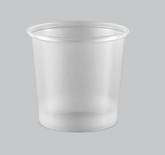 Pote Plástico Liso Copaza 500ml P-08