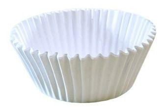 Forminha de Papel Branca N°00  - 1000 unidades