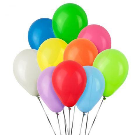 Balão São Roque N°7 Cores Variadas - 50 unidades