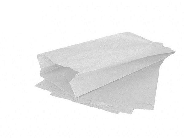Saco Papel Mono Branco para Pães e Doces - 500 unidades