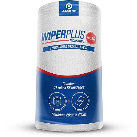 Pano Multiuso Wiperplus Pro70 28x44 com 88 unidades