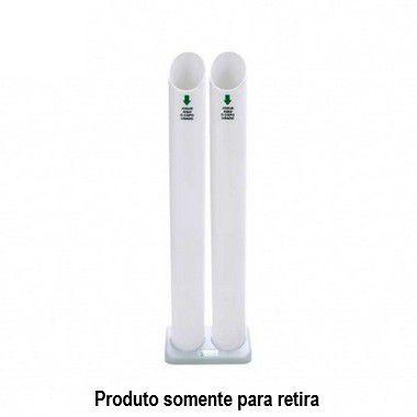 Coletor de Copos Descartáveis Usados 2 Tubos (água/água) - Trilha
