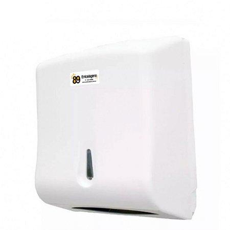 Dispenser Papel Toalha Interfolha Branco