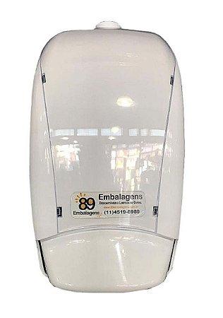 Dispenser de Sabonete Espuma com Reservatório 500 ml Branco