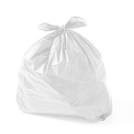 Saco de Lixo Branco 40 litros - 100 unidades