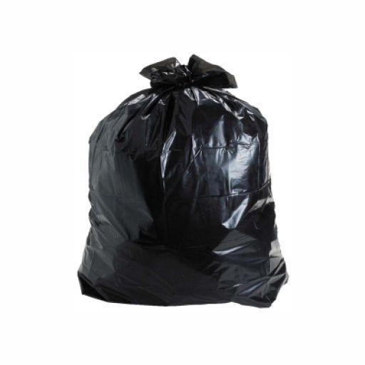 Saco de Lixo Preto Reforçado 40 litros c/ 5 kilos