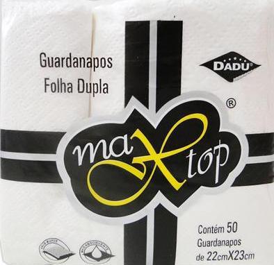 Guardanapo Pequeno Maxtop 22x23