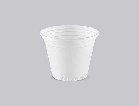 Copo Plástico Descartável Translúcido 80 ml - Copaza