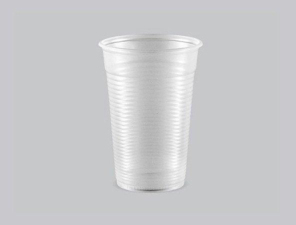 Copo Plástico Descartável Estriado 300 ml Copaza