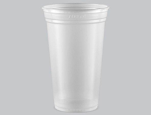 Copo Plástico Descartável Translúcido 770 ml - Copaza