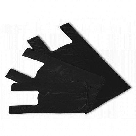 Sacola Plástica Preta - Medidas Variadas
