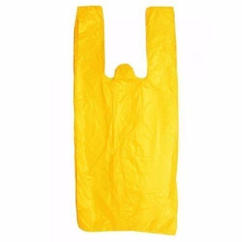 Sacola Plástica Economil Amarela - 700 unidades