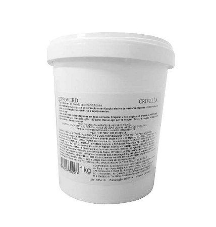 Sanitizante em pó para Alimentos Hippoverd - 1 Kg