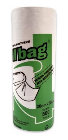 Sacos em Bobina Picotada para Hortifrúti 20 X 35 - Roll Bag