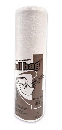 Sacos em Bobina Picotada para Hortifrúti 35 X 50 - Roll Bag