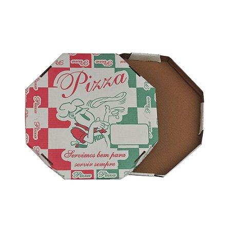 Caixa de Pizza Brotinho Impressa Oitavada