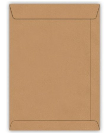 Envelope Kraft Natural com 10 unidades - 229mm x 324mm