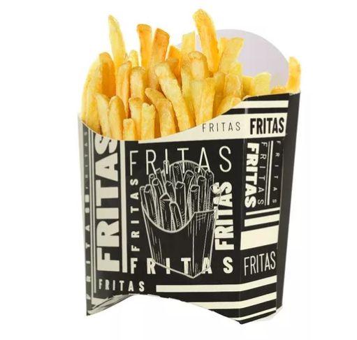 Caixa Personalizada para Batata Frita - C/ 50 Unidades