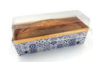 Embalagem Forneável para Bolo Inglês - Azul